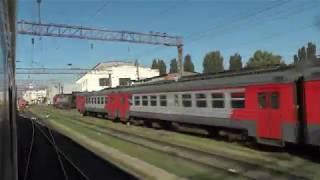Поездка на пассажирском поезде №511/512 Москва — Адлер
