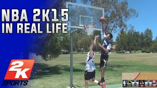 NBA 2K15 IN REAL LIFE