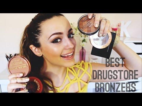 My TOP 5 Favorite Drugstore Bronzers!