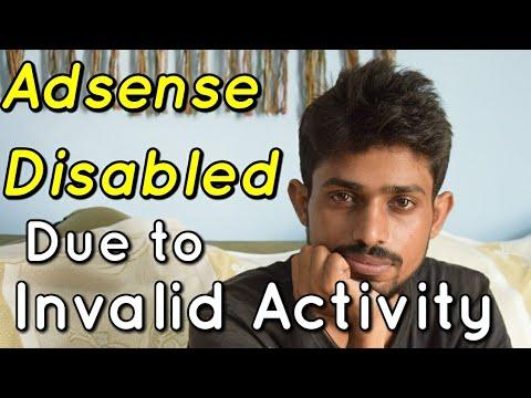 Adsence Account disabled due to Invalid Activity of Tricky Maharaj   Hindi