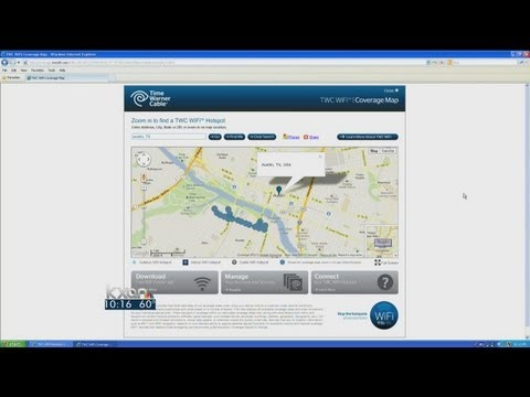 Time Warner Cable deploys citywide WiFi hotspots