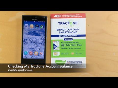 Checking My Tracfone Account Balance