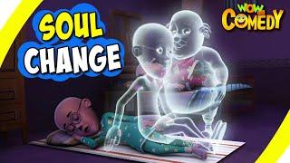 Motu Patlu- EP29 B | Soul Change | Funny Videos For Kids | Wow Kidz Comedy