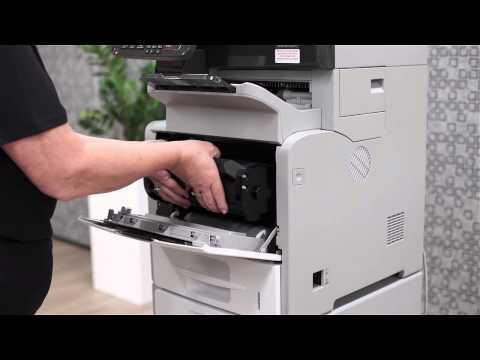 Ricoh Customer Support - How to change Toner