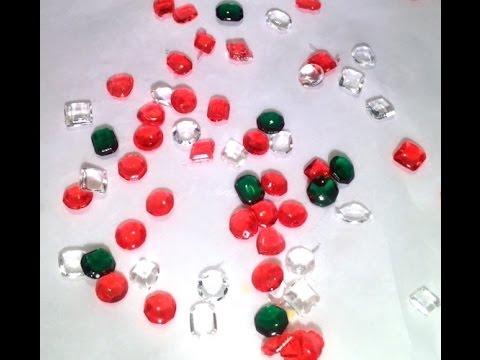 How to Make Sparkling Isomalt Gems