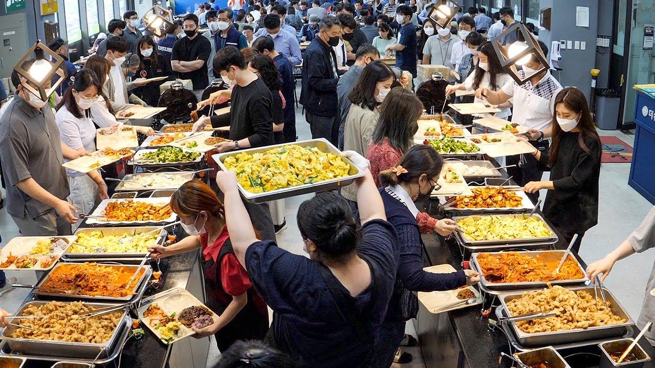 역대급 한식뷔페집이 떳다!! 클라스가 다른 뷔페~, 하루 1500명이상 방문하는 뷔페 끝판왕!~ / Korean buffet with 1500 visitors per day