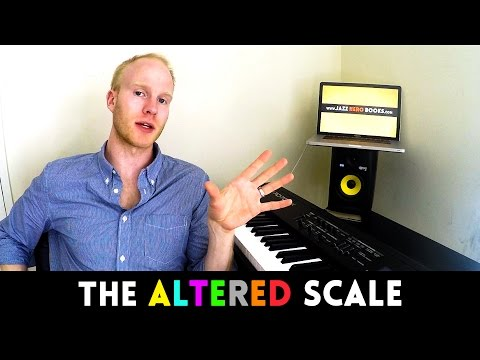 THE ALTERED SCALE SHORTCUT: quickest way to play the altered scale