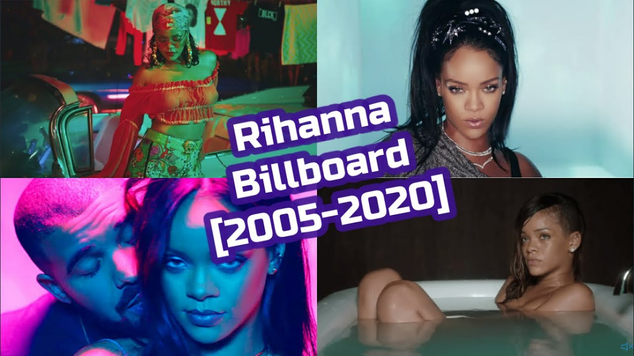 Rihanna Billboard Chart History [2005-2020]