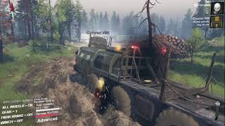 Spintires Volcano Map Episode 2 - Multiplayer With ColonelWill