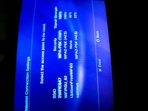 How to get wireless enternet for ps3