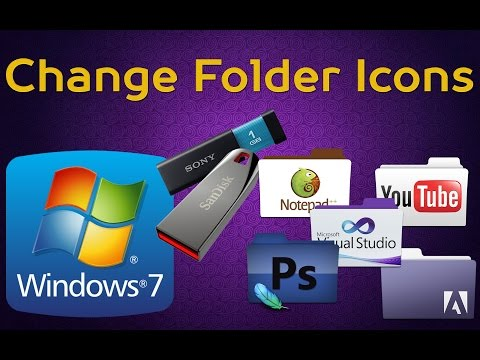 How to Change Folder Icons Permanently [Windows][English Subtitles]
