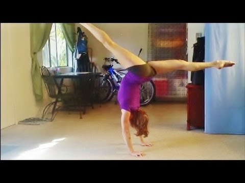 How To Do A Front Walkover With Coach Meggin!