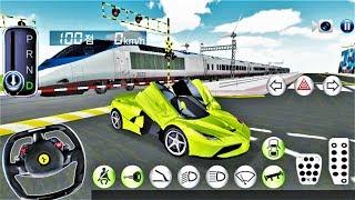 Korean Car Driving #6 Sports Car - Driver Examination Simulator