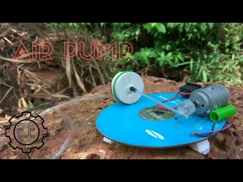 How to make a powerful air pump for fish tank at home