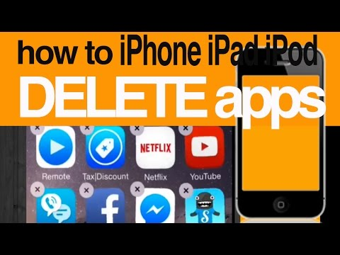 Can't Delete Apps, wiggles but no X option FIX for iPhone iPad iPod