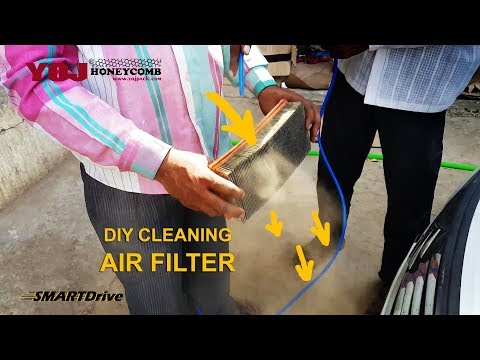 Cleaning engine air filter for better car performance : SMARTDrive