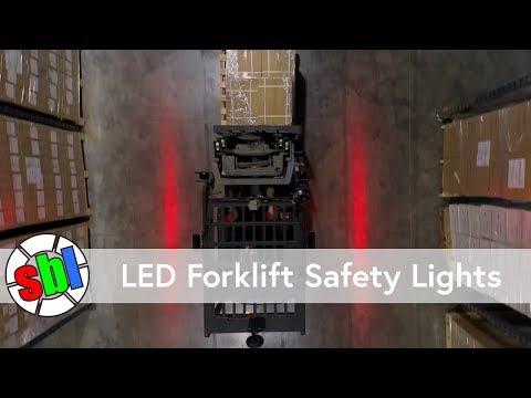 LED Forklift Safety Lights