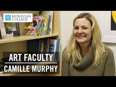 Professor of Graphic and Interactive Design Camille Murphy | Moravian College