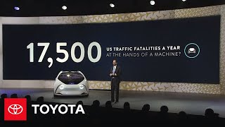 CES 2017 Press Conference Livestream – Toyota  SUBSCRIBE: http://bit.ly/ToyotaSubscribe  About Toyota: We're in the business of making great cars and trucks. But we also work every day to apply and share our know-how in ways that benefit people, the community and our planet in order to build a better tomorrow. We've been a part of life in America for over 50 years. And while we're passionate about making great cars and trucks, our story is about much more than our vehicles.   Connect with Toyota USA online: Visit the Toyota WEBSITE: http://bit.ly/ToyotaSite Like Toyota on FACEBOOK: http://bit.ly/ToyotaUSAFB Follow Toyota on TWITTER: http://bit.ly/ToyotaTwitter Follow Toyota on INSTAGRAM: http://bit.ly/ToyotaInsta +1 Toyota on GOOGLE+: http://bit.ly/ToyotaUSAGplus  Toyota CES 2017 Live Stream | Toyota http://www.youtube.com/user/ToyotaUSA
