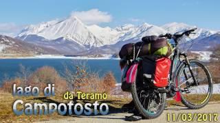 Lago di Campotosto in bici da Teramo