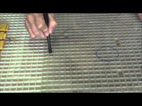 Cutting A Circle from Plate Glass
