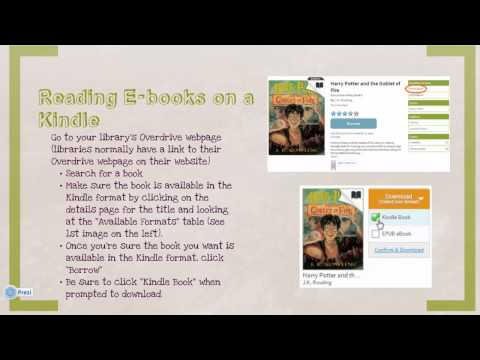 How to Read Library E-books
