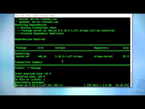 Installing Latest Stable Kernel 3.18 On CentOS 7/RHEL7
