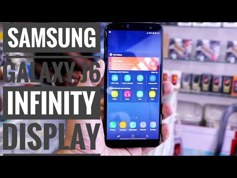 samsung galaxy j6 infinity display UnBoxing And Overview
