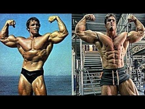 Like Dad Like Son | Arnold schwarzenegger Vs Calum Von Moger (Motivation)