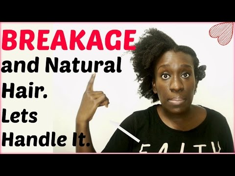 Causes of Natural Hair Breakage and Shedding | Tips for Type 4 Hair Breakage