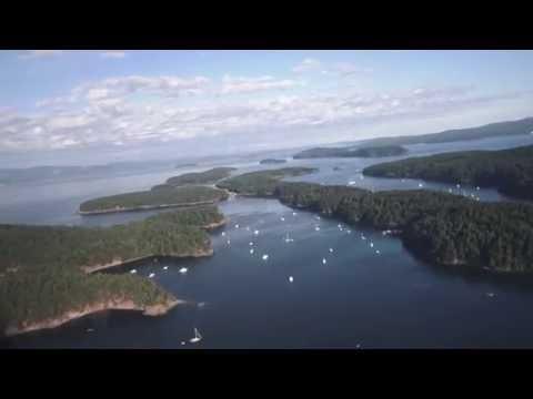Stuart island Washington Cessna 182