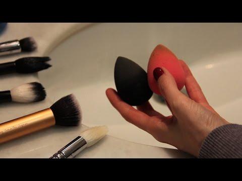 Fırça ve Makyaj Süngeri Temizliği (VİDEO)
