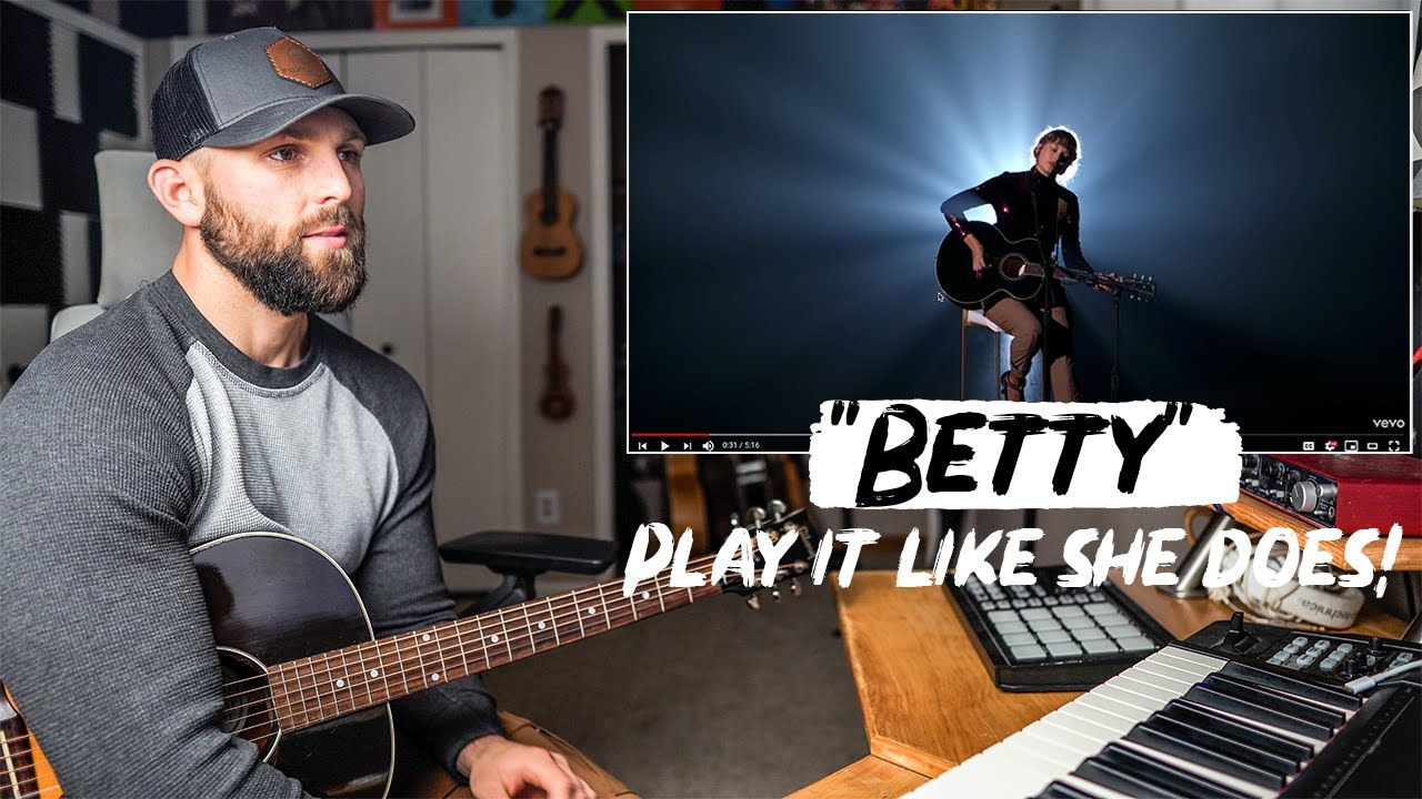 """How To Play """"Betty"""" LIKE TAYLOR SWIFT 