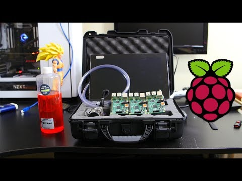 Portable Water Cooled Raspberry Pi Pelican Case Build! - The Parts