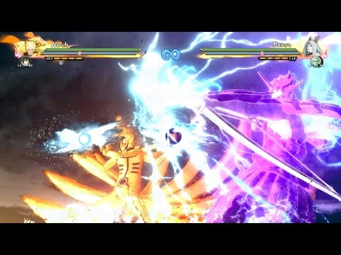 Naruto Storm 4: Naruto and Sasuke Susanoo & Kurama Fusion Awakening x  Team Ultimate Jutsu