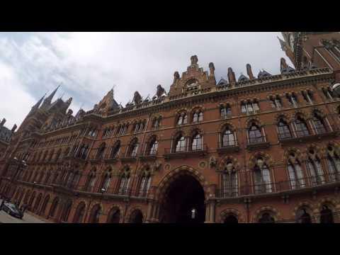 Exploring London, UK- St.Pancras Station