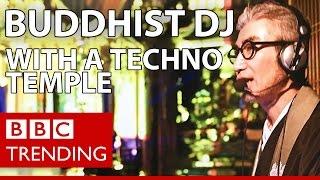 Gyosen Asakura - the Buddhist DJ with a techno temple - BBC Trending