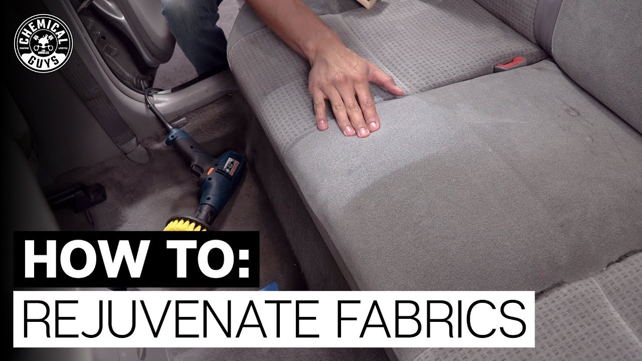 How To Quickly Clean Your Interior Fabrics! - Chemical Guys