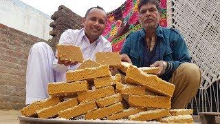 Gur Ka Patisa Recipe | Gur Papdi Recipe | Mubashir Saddique | Village Food Secrets