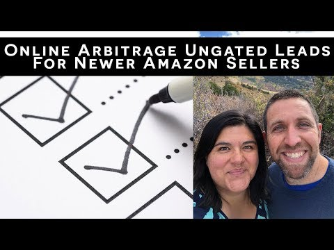 New Online Arbitrage Ungated Leads List For Newer Amazon Sellers