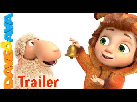 🐏 Little Bo Peep – Trailer | Nursery Rhymes and Kids Songs from Dave and Ava 🐏