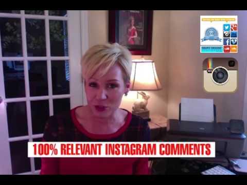 GET 100% REAL AND RELEVANT INSTAGRAM PHOTO/VIDEO COMMENTS