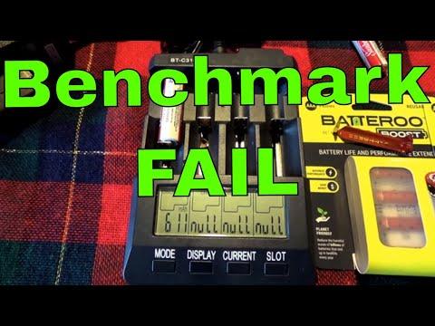 Batteriser / Batteroo Benchmark Test Total Power Output PART 2