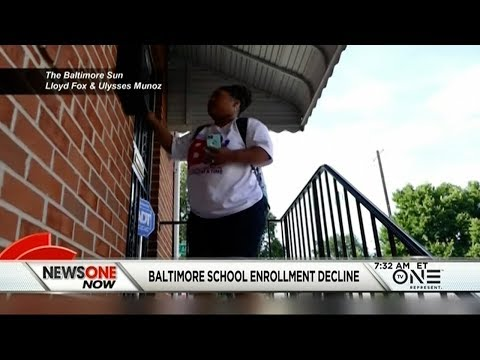 Low Public School Enrollment Causes Concern, BMore Teachers Go Door-To-Door To Retain Students