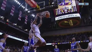 Coffey Finds Murphy for the Dunk vs. Drake