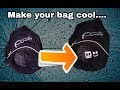 How to make marshmallow stickers for your bag