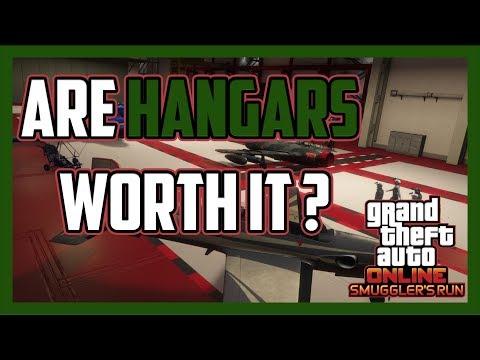 GTA Online - Are Hangars Worth It | Smugglers Run DLC