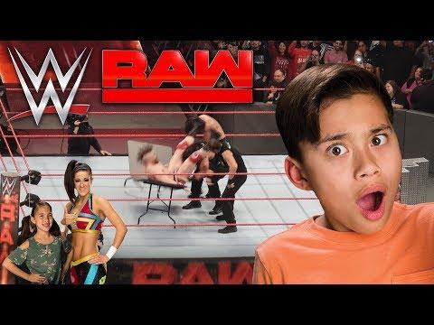 EVAN GETS BODY SLAMMED!!! WWE Super Challenge, Office Nerf War & Monday Night RAW! BTS