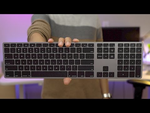 The best Mac keyboard? Matias Wireless Aluminum Keyboard!