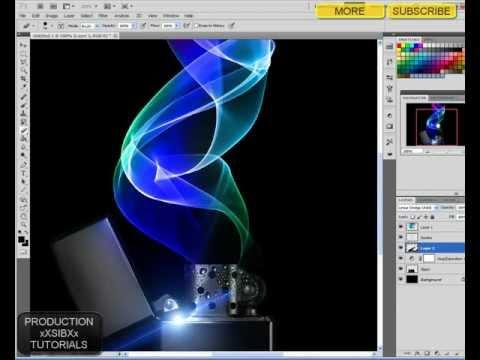 Photoshop CS5 How to make abstract desktop